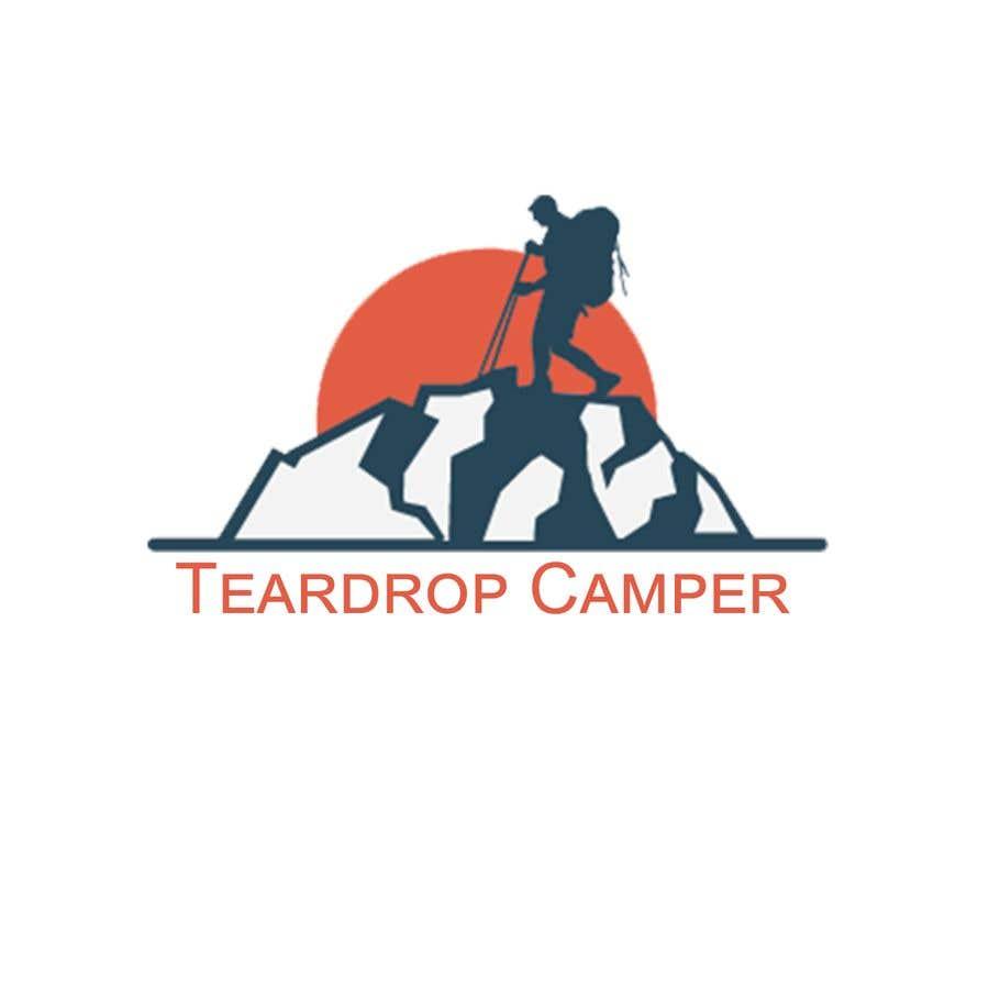 Inscrição nº 5 do Concurso para Design a badge for a Teardrop Camper Trailer