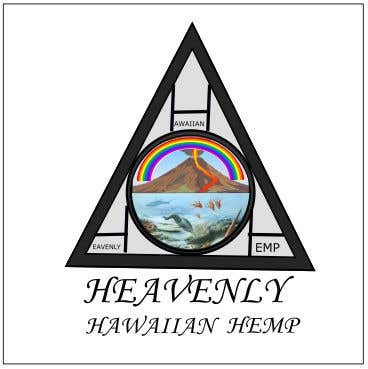 Contest Entry #116 for Logo for my business. My business name is Heavenly Hawaiian Hemp
