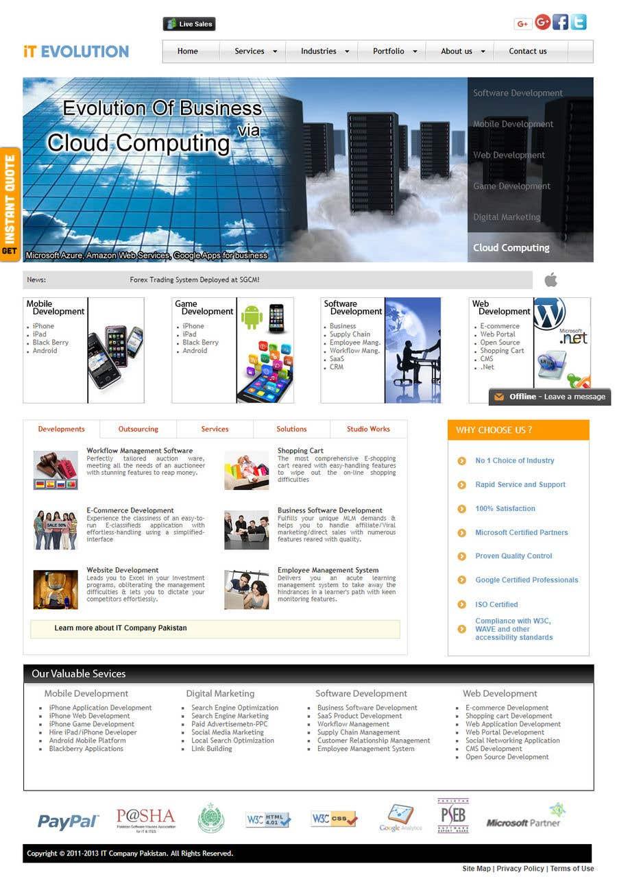 Penyertaan Peraduan #16 untuk word press website using divi theme rebuild