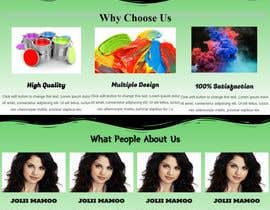 #10 for Create home page design by khawraymaseed