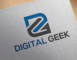 #10 untuk Logo Design for digital marketing company - Digital Geek oleh hossainmanik0147