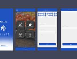 #5 for Mockup / design of nutrition App af kksaha345