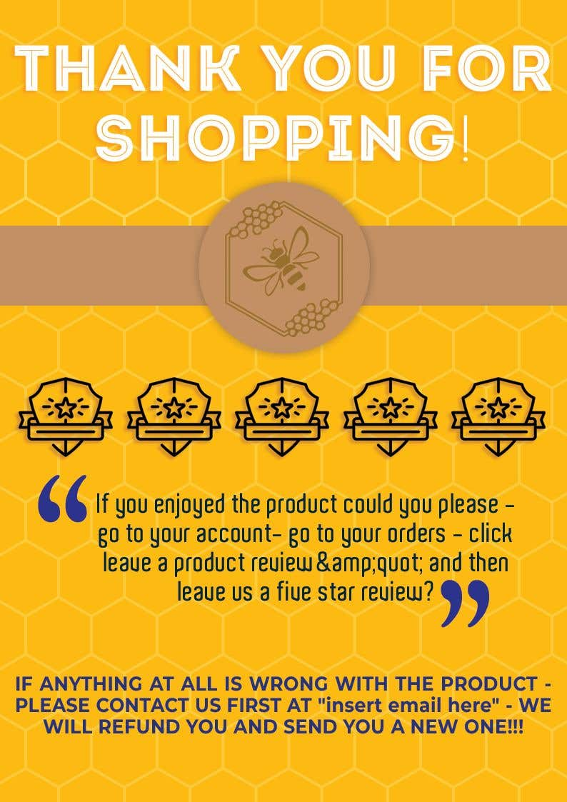 Contest Entry #11 for Create a simple product insert