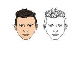 berragzakariae tarafından Draw a round face shape of a man için no 7