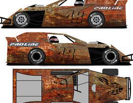 #32 untuk Wrap a car to look like rust oleh gianfmartin