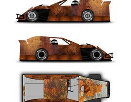 #18 untuk Wrap a car to look like rust oleh hire4design