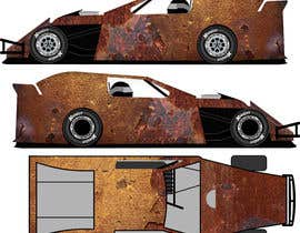 #16 untuk Wrap a car to look like rust oleh mousumi09