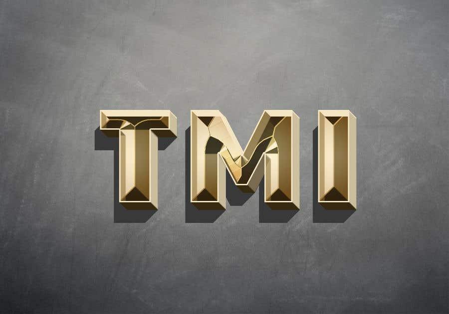 Kilpailutyö #61 kilpailussa A 3-letter 3D logo