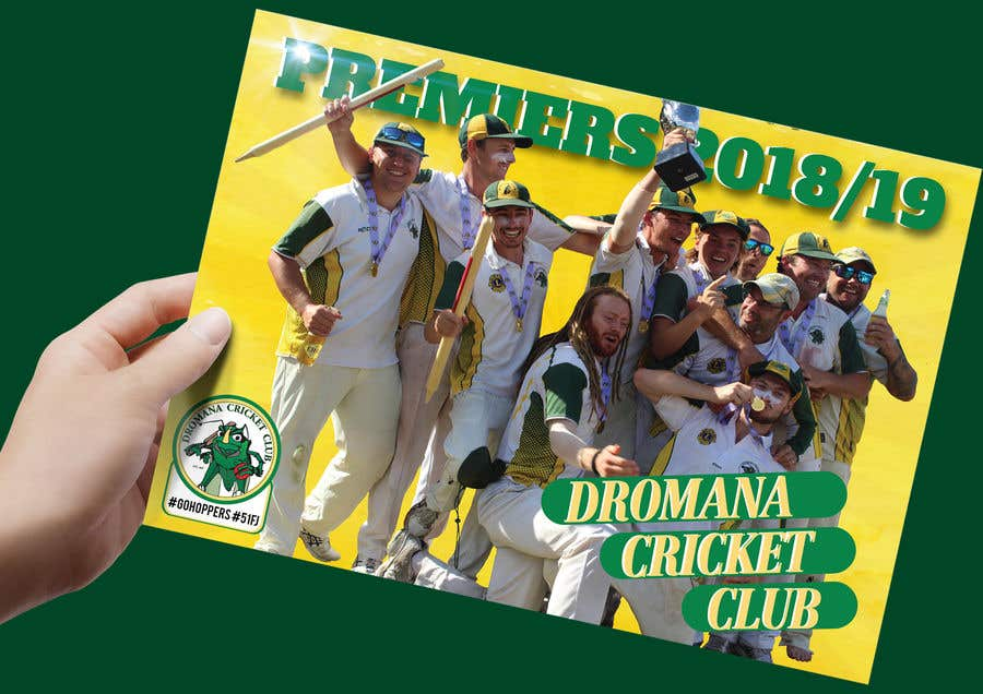 Konkurrenceindlæg #17 for Graphic Art - Cricket Club Flyer