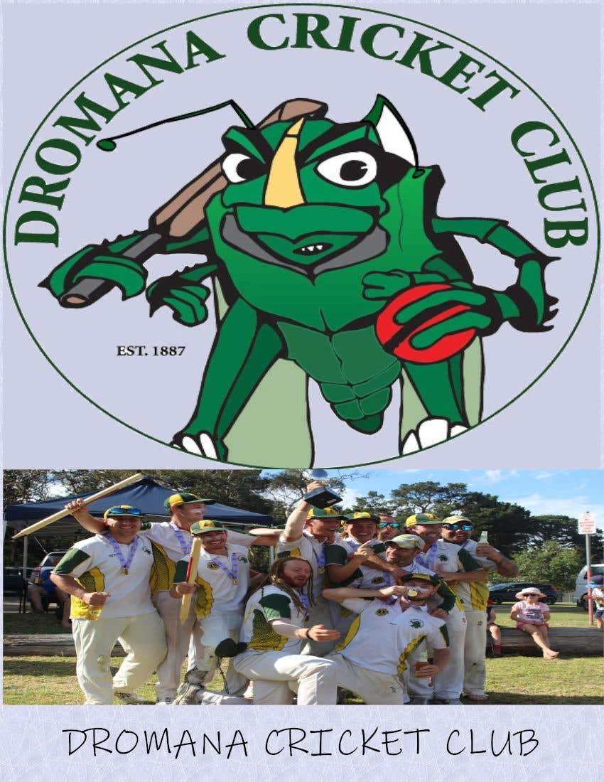 Konkurrenceindlæg #3 for Graphic Art - Cricket Club Flyer