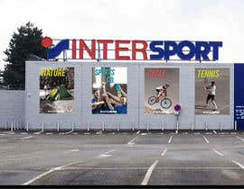 nº 18 pour Nouveaux visuels sur la façade d'un magasin par djsetstv