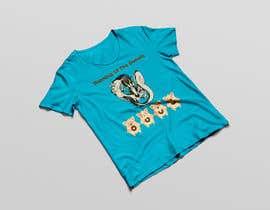 PSdesigner280 tarafından Design a t-shirt for the 2019 Running of the Donuts için no 34
