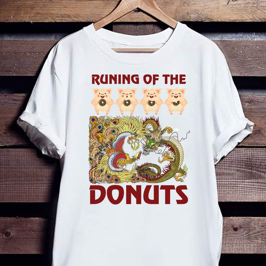 Konkurrenceindlæg #26 for Design a t-shirt for the 2019 Running of the Donuts