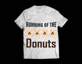 #8 para Design a t-shirt for the 2019 Running of the Donuts por graphicsword