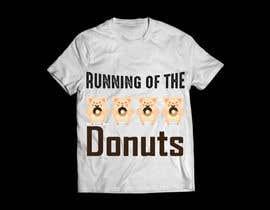 graphicsword tarafından Design a t-shirt for the 2019 Running of the Donuts için no 8