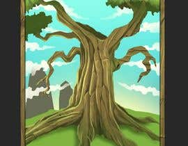 nº 4 pour Illustrate Tree for Card Back in a Game par tamzania