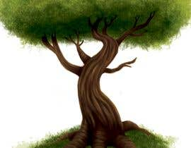 nº 6 pour Illustrate Tree for Card Back in a Game par irenkgov
