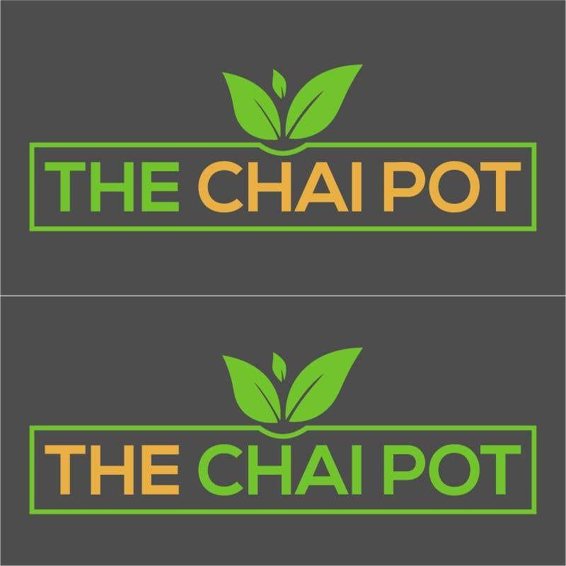 Kilpailutyö #44 kilpailussa Chai Pot Logo