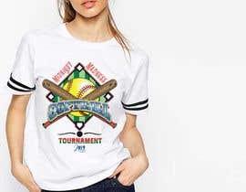 #36 cho T-Shirt Design for Softball Tournament bởi afsanaha