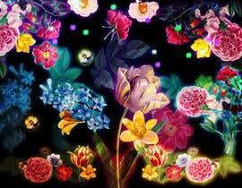 #56 for Create a Neon Flower Design With Lots of Flowers (full image coverage) af mohhomdy