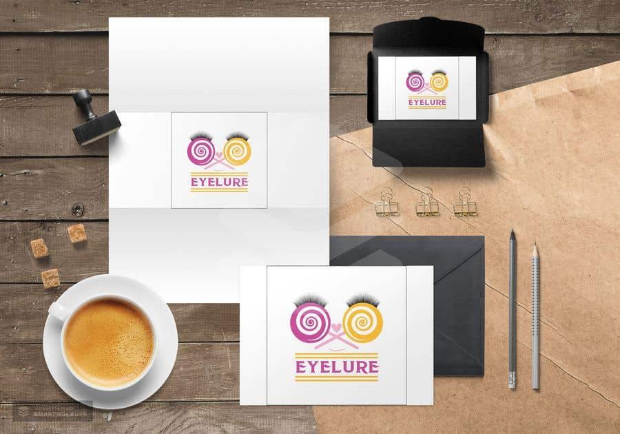 Penyertaan Peraduan #68 untuk Eyelash Brand Name, Logo, and Packaging Suggestions