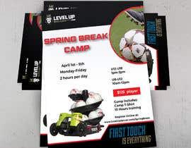 #53 untuk URGENT Flyer Design for Spring Break Soccer Camp oleh barbaranokrek