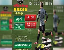 redstar041 tarafından URGENT Flyer Design for Spring Break Soccer Camp için no 27