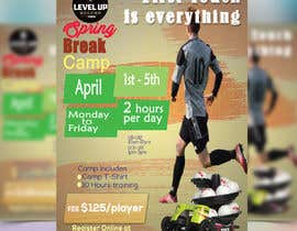 redstar041 tarafından URGENT Flyer Design for Spring Break Soccer Camp için no 31