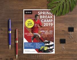 Rifatpial0 tarafından URGENT Flyer Design for Spring Break Soccer Camp için no 28