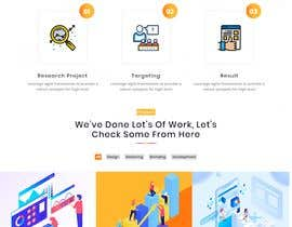 #19 untuk Website for Digital Marketing Company oleh shozonraj041