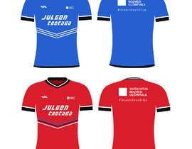 nº 63 pour Attention-grabber sports T-shirt for sports charity par color78