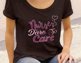 #28 untuk Nursing T-Shirt Design oleh Mostakim1011