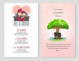 #36 para Design our Wedding Invitation por vrizkyyanuar
