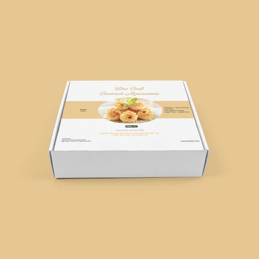 Entry 4 By Anwaarqayyum77 For Packaging Design For A Box Of Coconut Macaroons Freelancer