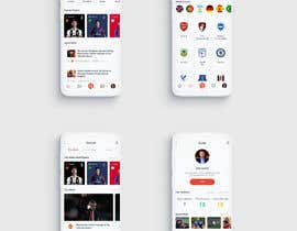#16 cho App Design for Sports Scouting App bởi znxked