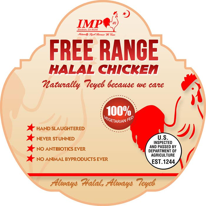 Inscrição nº                                         14                                      do Concurso para                                         Graphic Design for US chicken label to be placed on bagged chicken