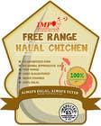 Graphic Design Inscrição do Concurso Nº27 para Graphic Design for US chicken label to be placed on bagged chicken