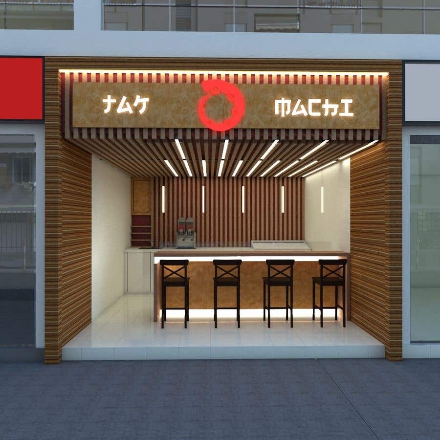 Entry #30 by Akeller21 for Design a Japanese style Shop in Sketchup