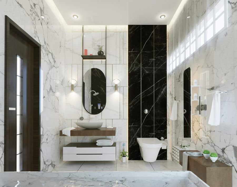 Entry 41 By Nehalhasemnh For Small Bathroom Design Freelancer