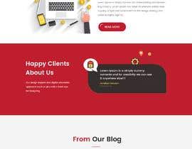 #17 para Mockups UX/UI design for Website por husainmill