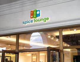 #43 for Design me a logo for spice lounge and slogan af rakhiunislam676