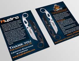 Nro 47 kilpailuun Flyer for a kickstarter project A6 with our logo and product. käyttäjältä graphicshero