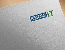 #284 untuk Company logo for KnowIT oleh graphicbooss