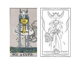 nº 36 pour Illustrate tarot card graphics par EcemDede