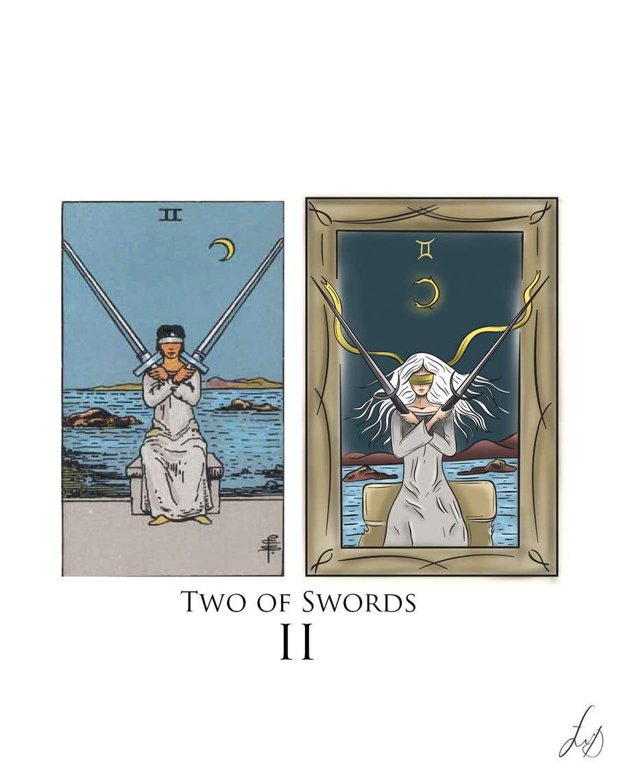 Proposition n°54 du concours Illustrate tarot card graphics