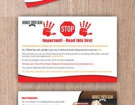#40 cho Design a product insert/2 sided postcard. bởi CDesigner360