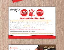 #56 cho Design a product insert/2 sided postcard. bởi CDesigner360