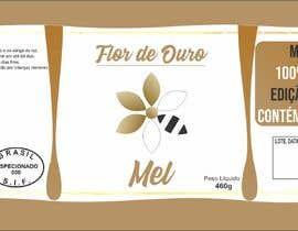 #4 para Rótulo para pote de mel FLOR DE OURO por williangerei