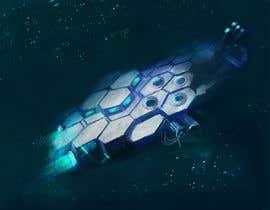 #39 for Concept Art for sci-fi base building game af Aman11984
