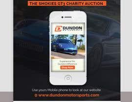 #12 pentru Poster Design for the Smokies GT3 Charity Auction de către ssandaruwan84